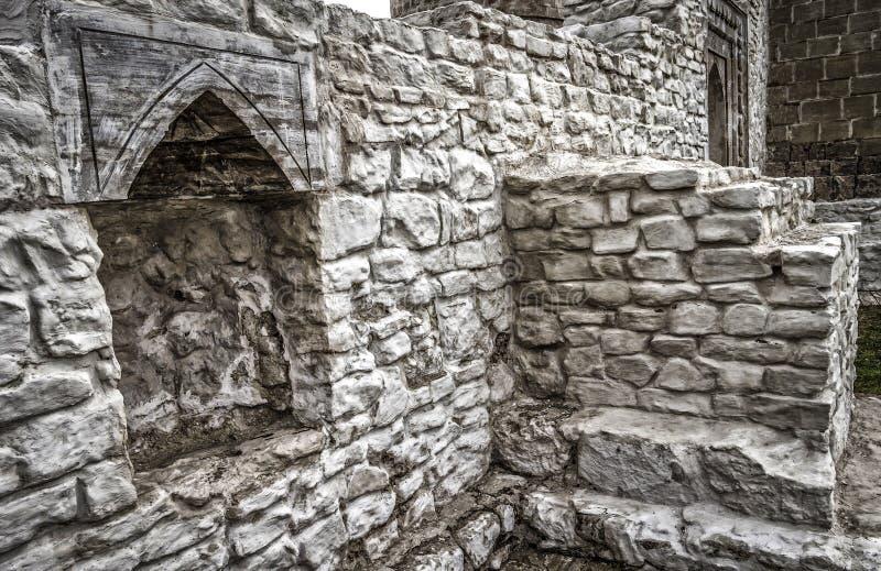 Руины старинных зданий стоковые изображения