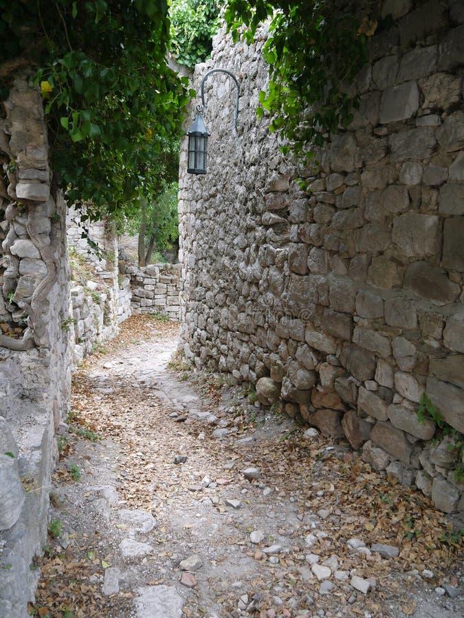 Руины старого бара (бара) Stary, Черногории стоковая фотография