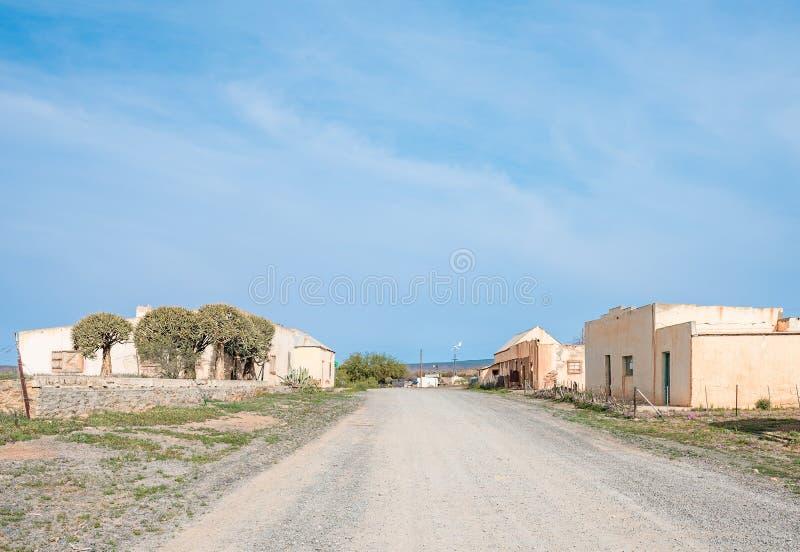 Руины старой деревни стоковое изображение rf