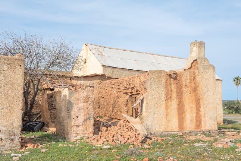 Руины старой деревни стоковые изображения rf