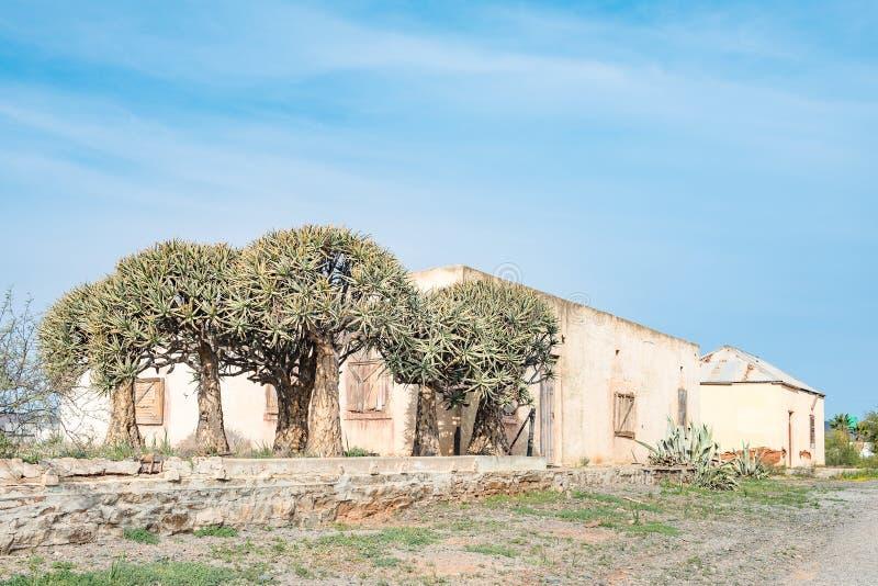 Руины старой деревни стоковая фотография