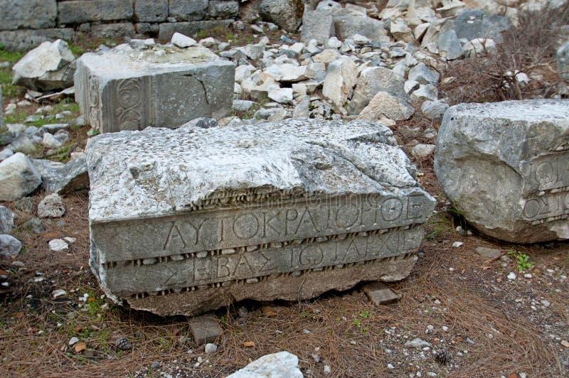 Руины старых цивилизаций все еще extant стоковые изображения rf