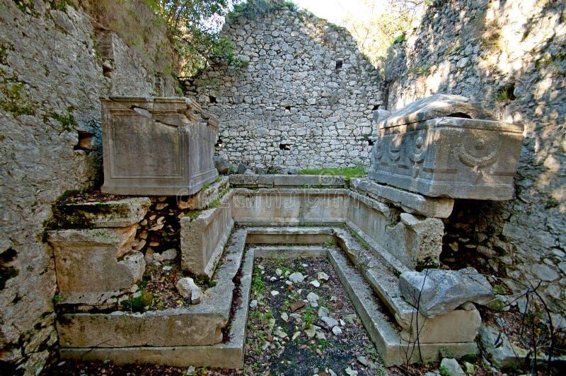 Руины старых цивилизаций все еще extant стоковое фото rf