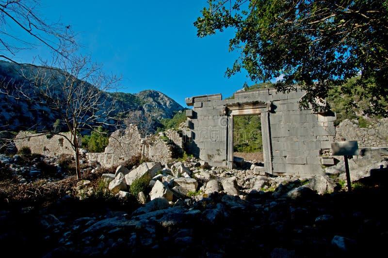 Руины старых цивилизаций все еще extant стоковая фотография rf
