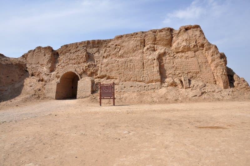 Руины форта Великой Китайской Стены стоковые изображения rf