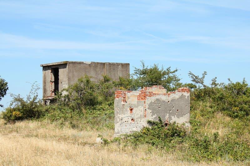руины холма стоковые изображения rf