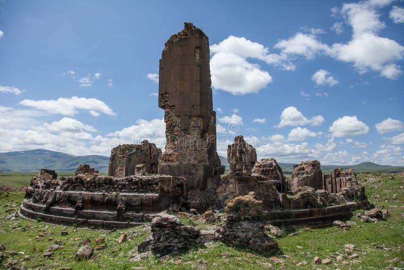 Руины церков, ани, индюк стоковые изображения rf
