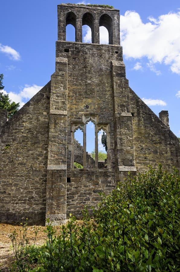 Руины церков в Malahide, Ирландии стоковое фото