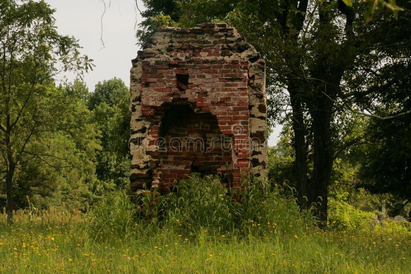 Руины эры гражданской войны стоковые изображения