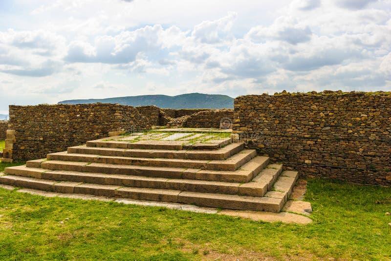 Руины Aksum (Axum), Эфиопии стоковое изображение