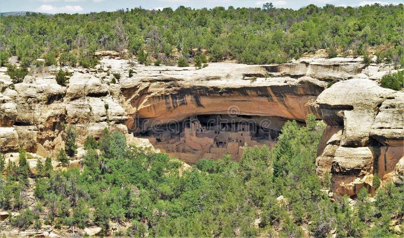 Руины Anasazi мытья Батлера стоковое изображение