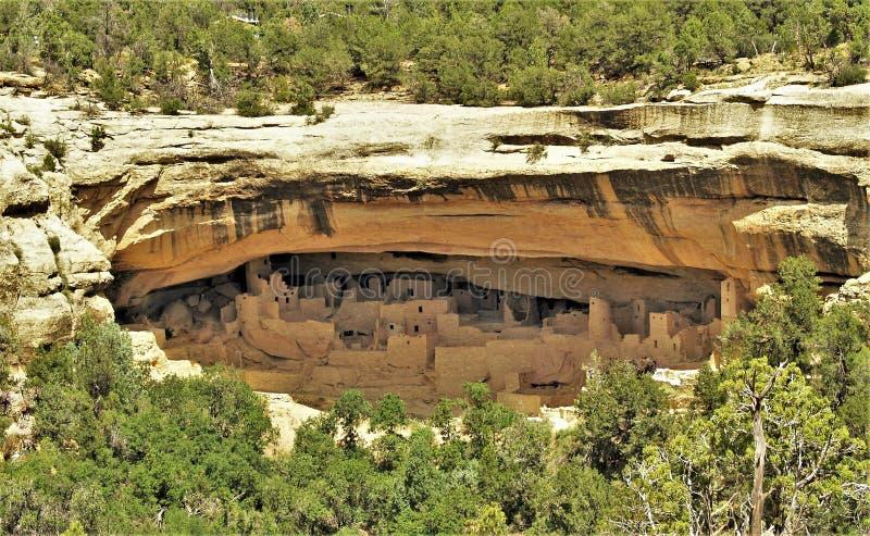 Руины Anasazi мытья Батлера стоковое изображение rf