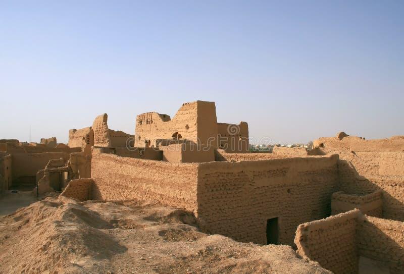 руины diriyah стоковая фотография