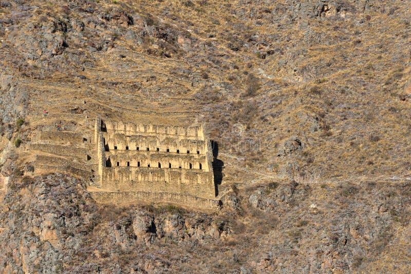 Руины Inca Pinkulluna стоковые фотографии rf