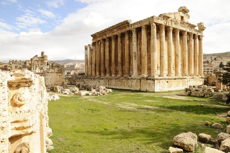 Руины Jerash, стоковые фотографии rf