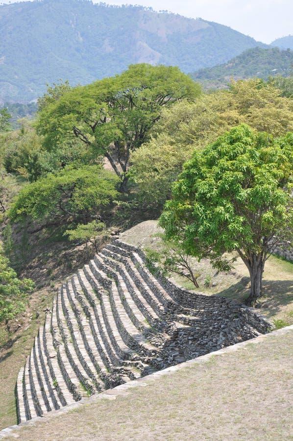 Руины Mixco Viejo, Гватемалы стоковая фотография