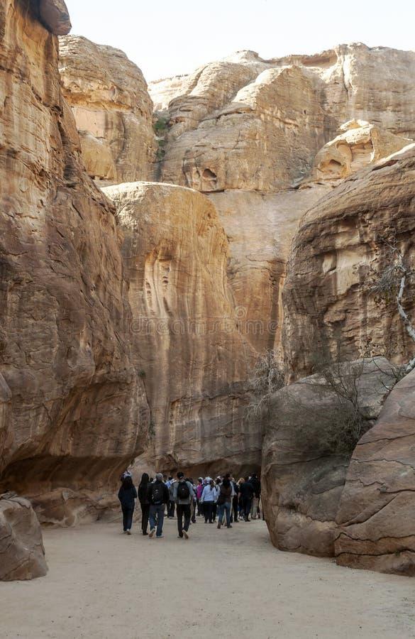 руины petra стоковое фото rf