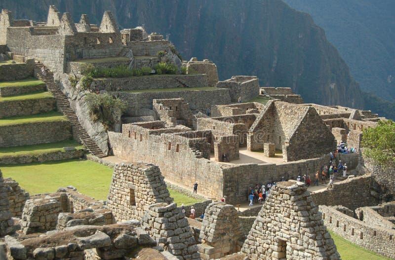 руины picchu machu стоковые изображения
