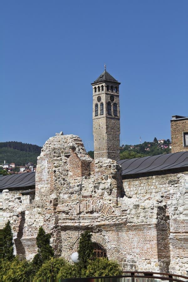 Руины Taslihan стоковые фотографии rf