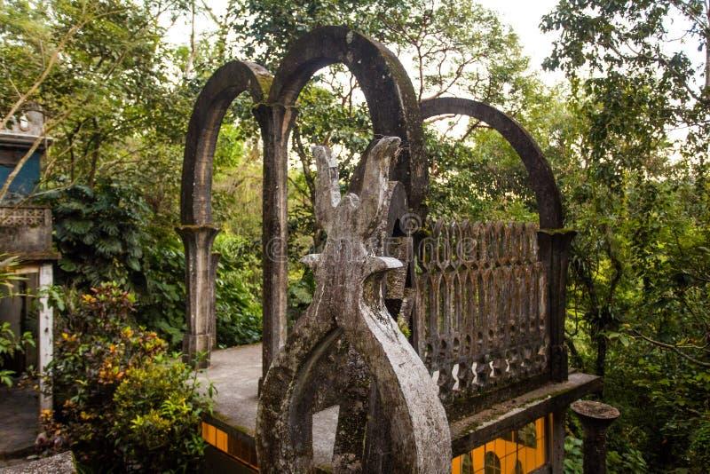 Руины Xilitla в Мексике стоковая фотография