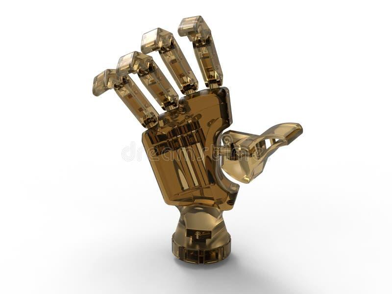 Рука андроида иллюстрация вектора