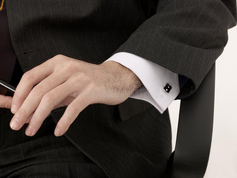 Рука бизнесмена стоковые изображения