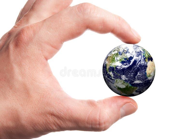 рука глобуса стоковые фотографии rf