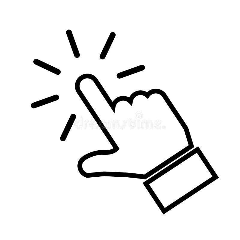 Рука делая вектор †знака значка выбора « бесплатная иллюстрация