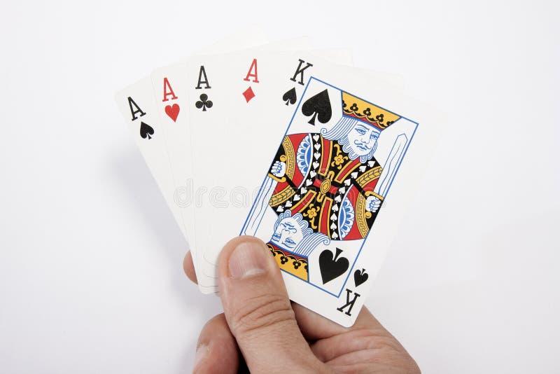 рука карточки мой играть стоковая фотография rf