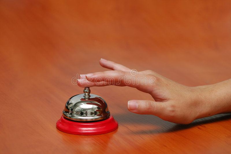 рука колокола стоковые фотографии rf