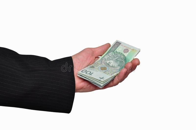 рука кредиток стоковое изображение rf
