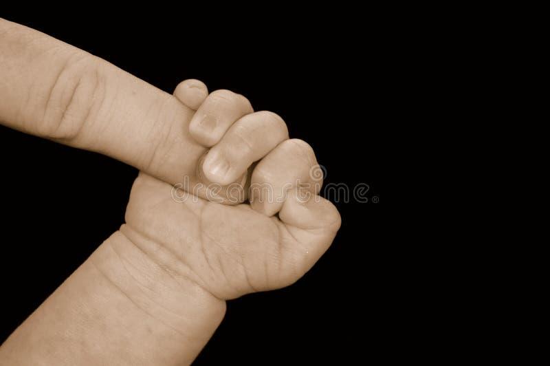рука младенца стоковые фотографии rf