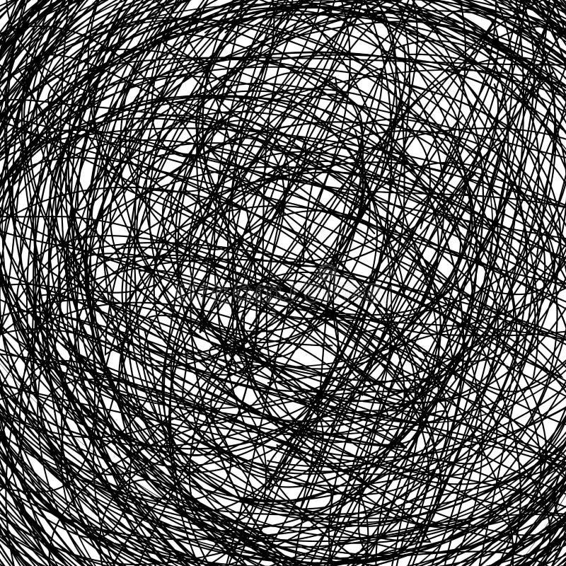рука нарисованная предпосылкой иллюстрация вектора