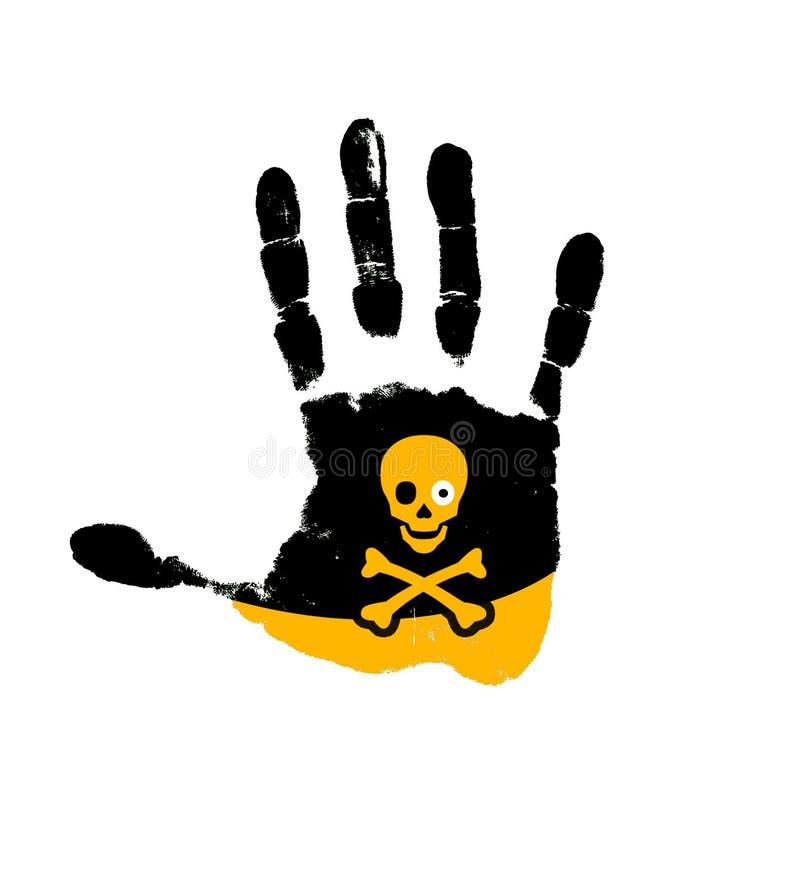рука опасности стоковые фото