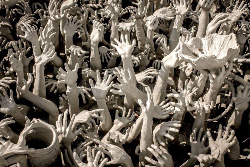 Рука от ада стоковые фотографии rf