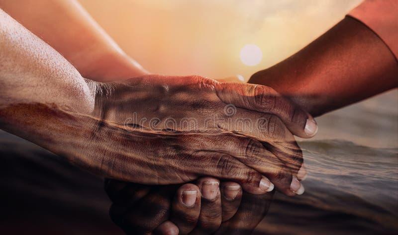 Рука, палец, держа руки