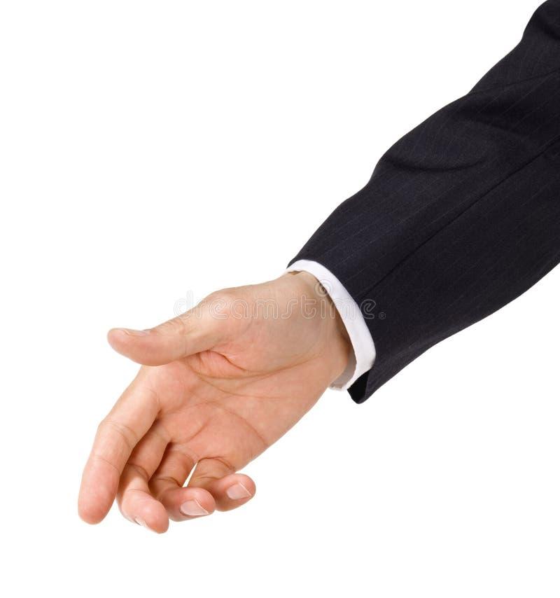 рука помогая вне достигнуть стоковое изображение