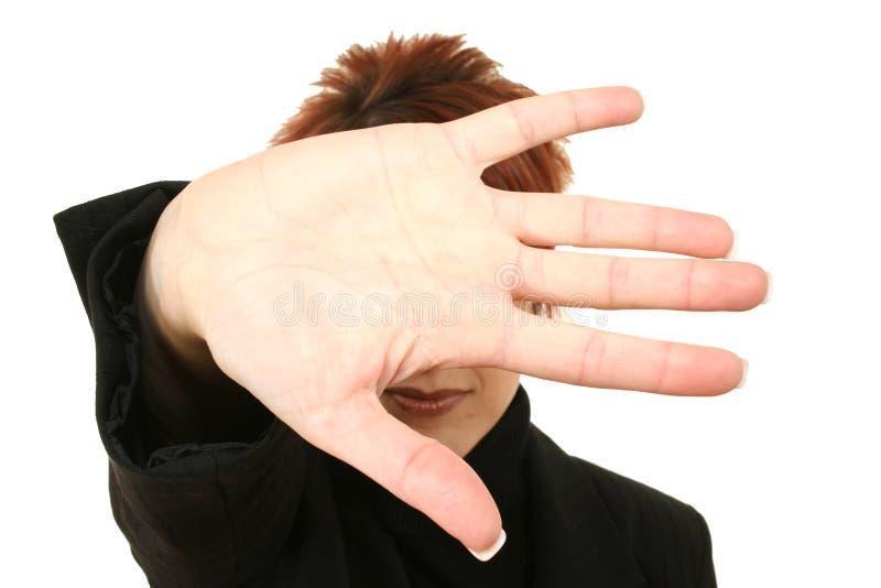 рука стороны заволакивания стоковая фотография
