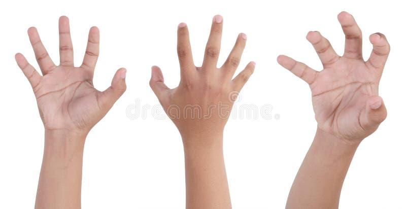 рука страшная стоковые изображения