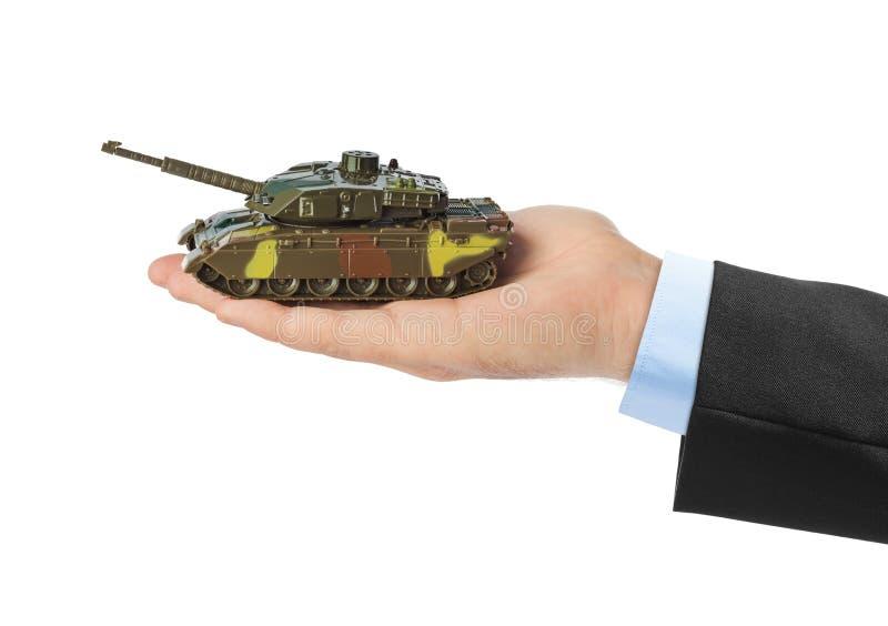 Рука с panzer стоковая фотография rf