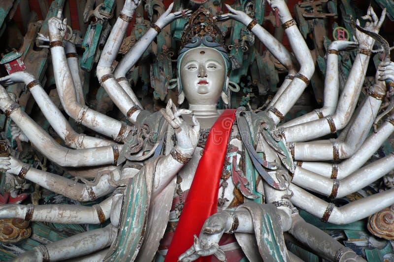 рука тысяча Будды стоковые фото