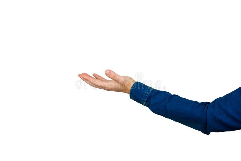 Рука человека стоковое изображение