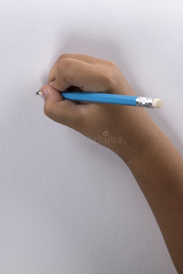 Рука чертежа ребенка стоковые изображения