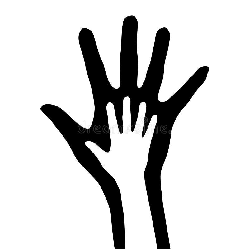 рука иллюстрация вектора