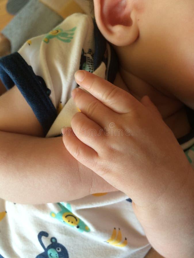 Рука Babys стоковая фотография rf