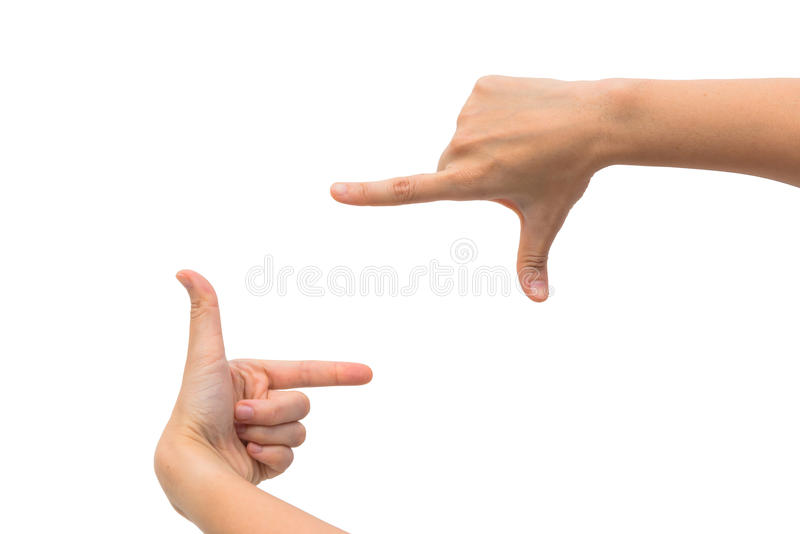 Download Рука S 2 женщин измеряя незримые детали Стоковое Фото - изображение насчитывающей closeup, backhoe: 33725754