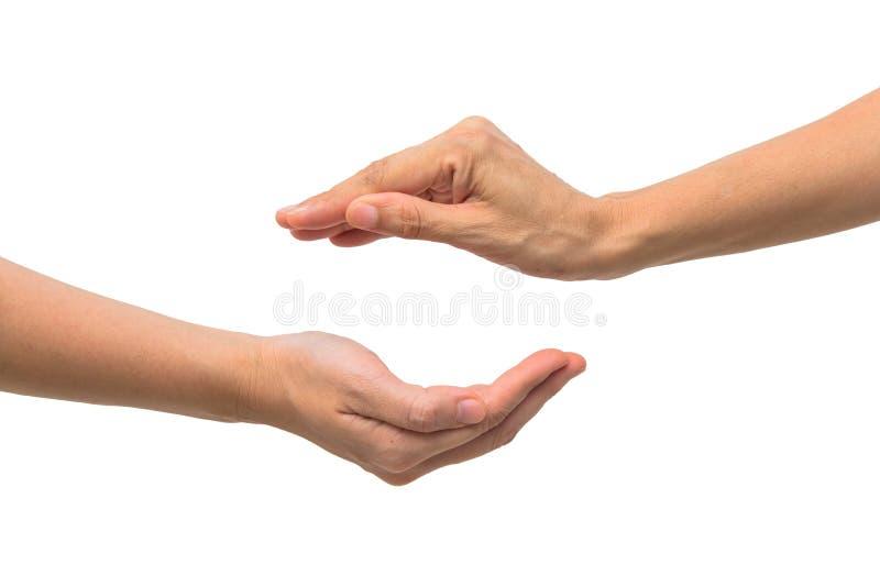 Download Рука S 2 женщин измеряя незримые детали Стоковое Изображение - изображение насчитывающей содержание, мужчина: 33725779