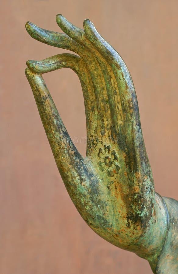 рука s жеста Будды стоковые изображения rf