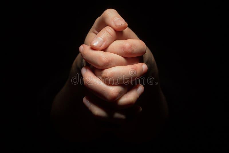 Руки в mudra стоковая фотография rf