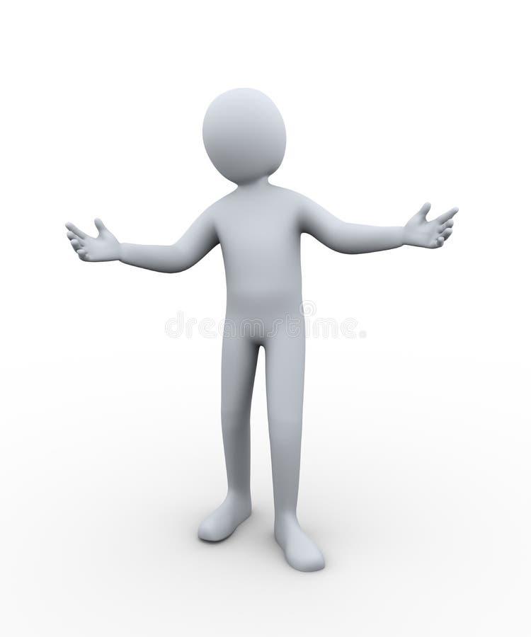 руки гостеприимсва человека 3d бесплатная иллюстрация